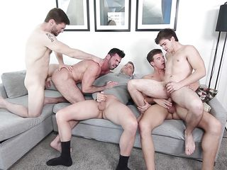 Гей порно видео кончают в жопу